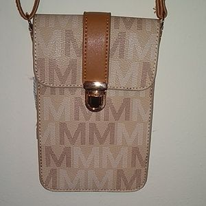 MKF 2 pocket small shoulder bag.